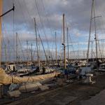 Yachten im Hafen von Santa Cruz de Tenerife