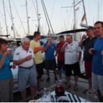 Begrüßung Sail&Fun Segeltörn in Palma