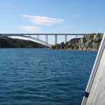 Mit der Yacht nach Skradin