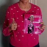 Marleen met haar boek