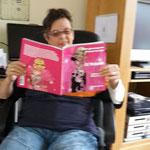 Annie met haar boek