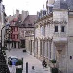 Cosy street in Dijon