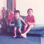 毎日、毎日、弟と笑ってました!