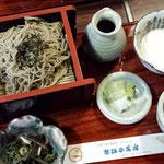 信州茜宿のお蕎麦だいすき!!