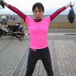ジョギングで○キロ痩せました!