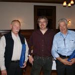 Godi Amstutz und Walter Murer 40 Jahre bei Baukader Unterwalden