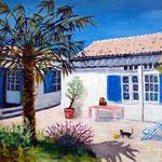 La maison peinte par une amie