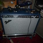 Vibroverb 64 RI custom shop Bleu ! Fender : PTP
