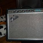 """Fender Princeton Reverb SF 100% lampes Dripp edge   1968 silverface état exceptionnel- construction point à point - les sons clairs du Twin mais en moins lourd. - Trémolo et reverb à lampes + footswitch - 1x HP 12"""" JBL"""