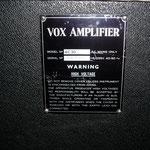 - Vrai Vox AC30reverb 1972  - HP Philips Alnico