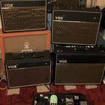 Quelques Vox à l'atelier.