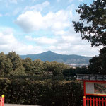 比叡山をのぞむ