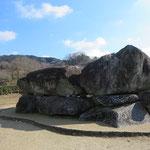 奈良明日香村の大きな石舞台古墳