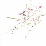 秋草 watercolor,paper  25.7×18.2cm