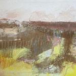 Landschaft, Mischtechnik, 39 x 29