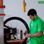 Service in der e-motion e-Bike Welt Olten