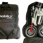Mobiky in der Tasche