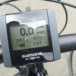 Display zum Shimano Steps Mittelmotor