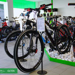 e-Bike Sortiment in der e-motion e-Bike Welt Olten
