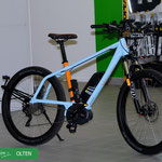 blue label in der e-motion e-Bike Welt Olten
