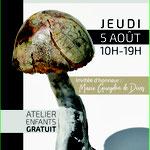 Affiche du Marché de Potiers de Barjac, 2021