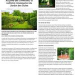 « Au pied des Cévennes, la sublime renaissance du Jardin des Oules » Le Figaro - juillet 2018