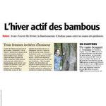 « Trois femmes invitées d'honneur », Bambouseraie, Midi-Libre - janvier 2016