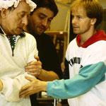 Heinz Rennhack mit Choreograph Tibor Boros
