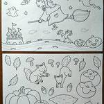 ハロウィンと食欲の秋