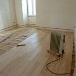clouage plancher