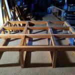 lit sur estrade, structure robuste