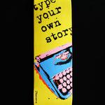 #skate #typewriter