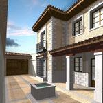 Proyecto de vivienda. Rodrigo Pérez Muñoz Arquitecto.