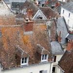 Die Dächer von Loches