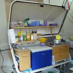 Mobile Klappküche