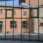 Das Forum Alte Werft spiegelt sich selbst
