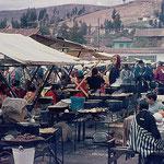 Open-Air-Restaurant im Hochland von Ecuador