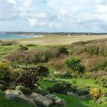 """Blick von """"unserem"""" Garten auf die Bucht"""