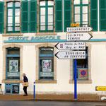 In Audierne. Esquibien, unser Wohnort, grenzt an diese Kleinstadt.