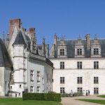 Schloss Amboise, Rückansicht