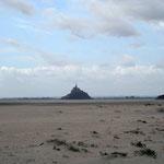 Mont Saint Michel - wie auf dem Cover eines Fantasy-Romans