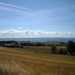 Felder und Meer und Ruhe