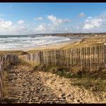 "Der Zugang zu ""unserer"" Bucht"