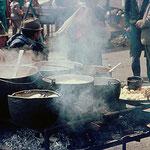 Die Kochtöpfe für den etwas größeren Appetit
