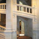Die berühmte, von da Vinci entworfene Treppe