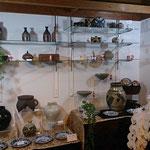 陶器も展示していました、