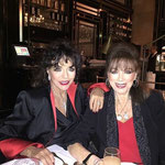 Joan & Jackie at dinner at The Wolesley March 24th 2015