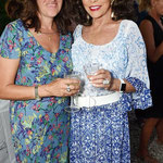 Joan attends Tracey Emins 52nd birthday party in St Tropez July 10th 2015