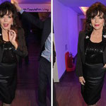 Joan attends The Reuben Foundation Wing Reopening Party at The Lyric Hammersmith London April 28th 2015
