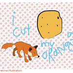 i will cut my orange